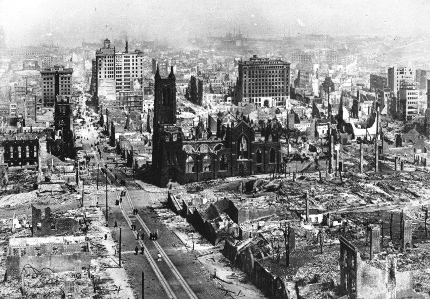 Землетрясение в Сан-Франциско 1906 года