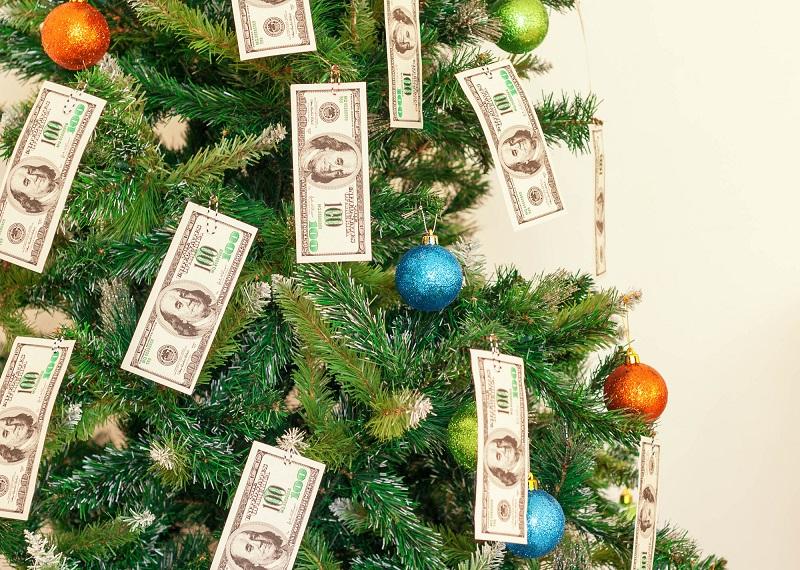 Новый год удача деньги