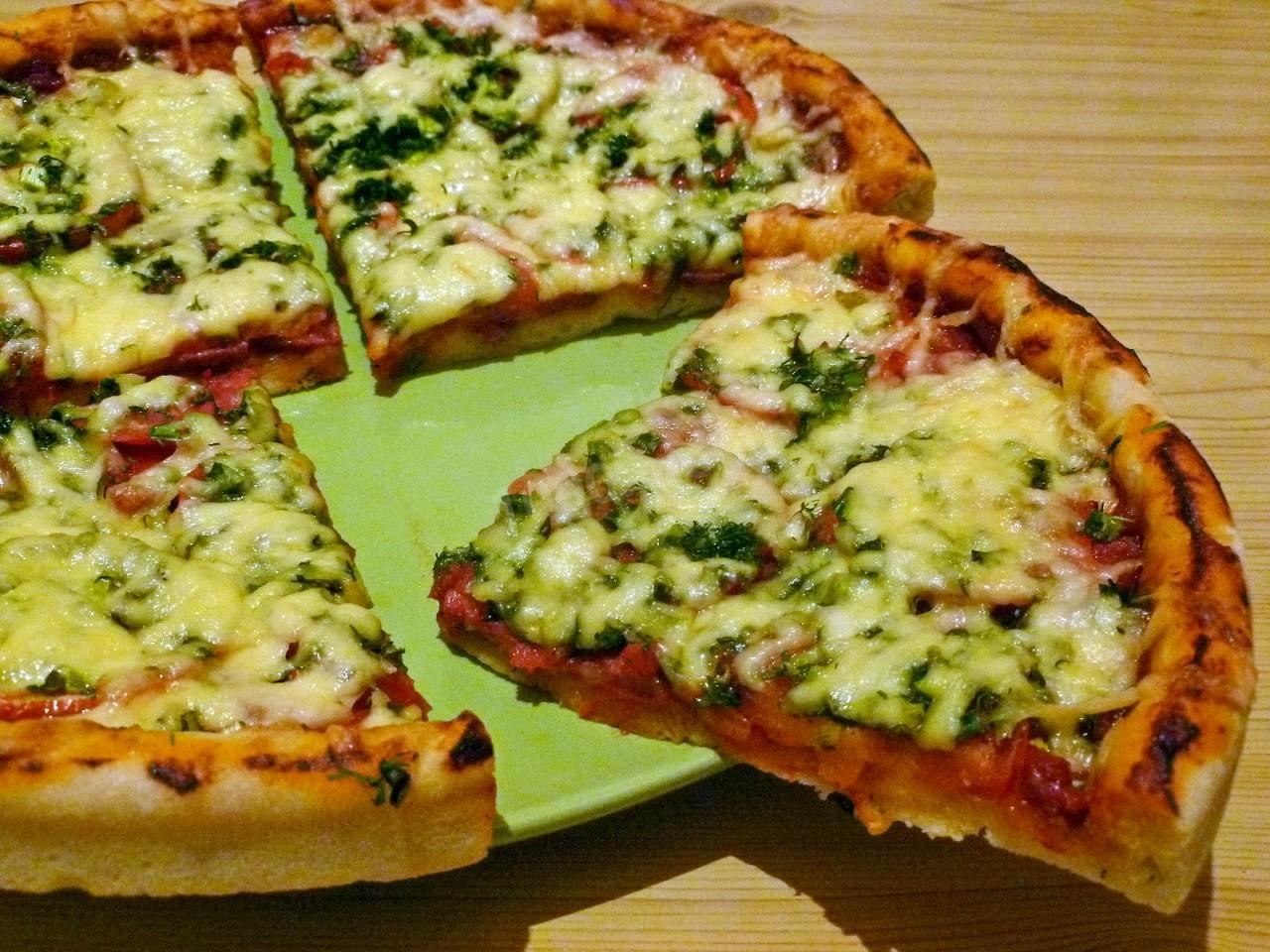 4 сыра пицца пошаговый рецепт
