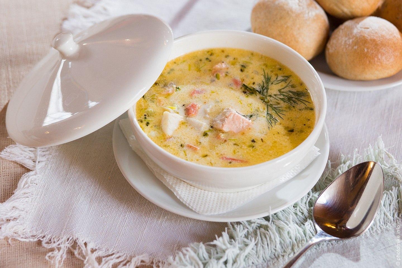 сливочный суп из семги рецепт с фото деталь хорошо