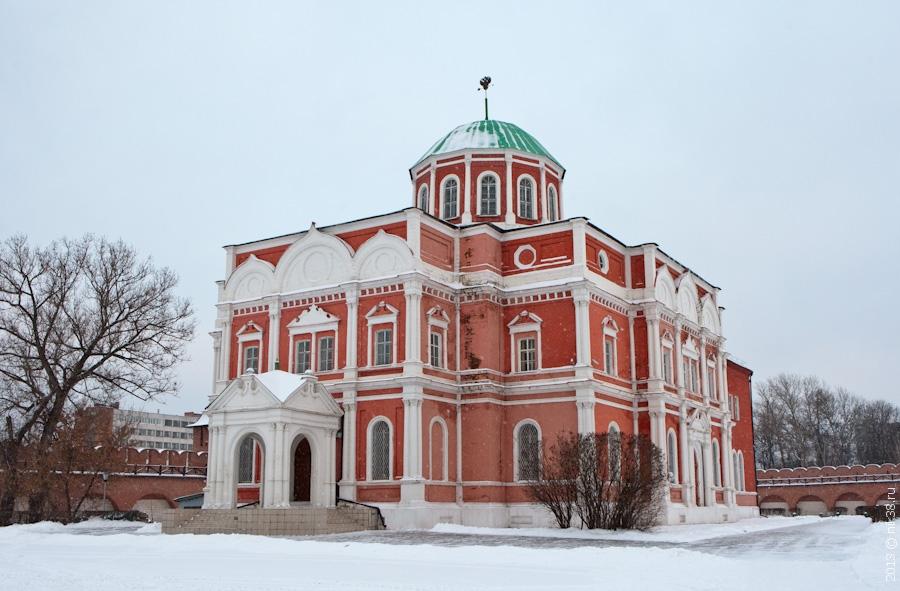 Музей оружия на территории Тульского кремля