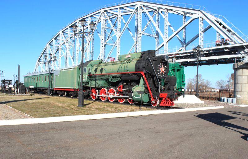 Музей Амурского моста в Хабаровске