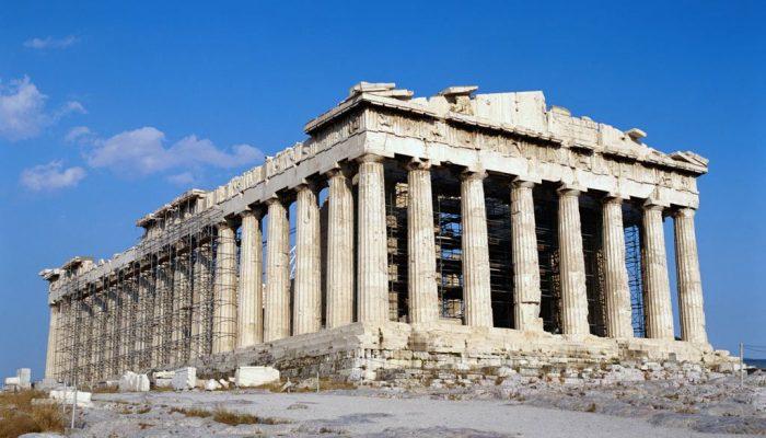 Храм Богини Афины - Парфенон