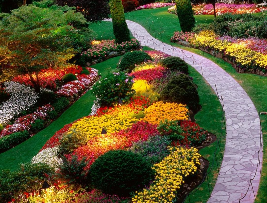 Ландшафтный дизайн цветника