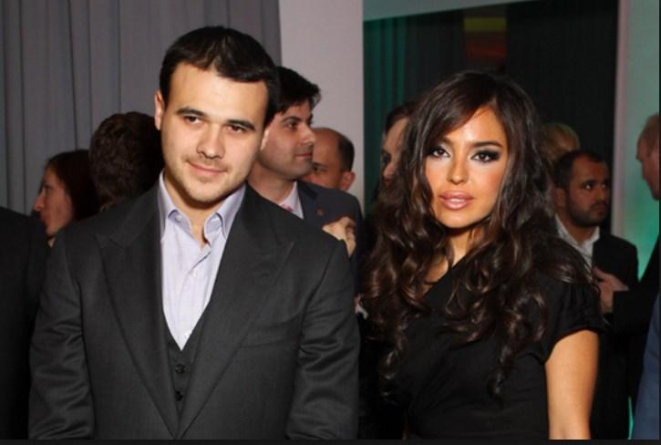 Лейла Алиева и Эмин Агаларов. Еще вместе.