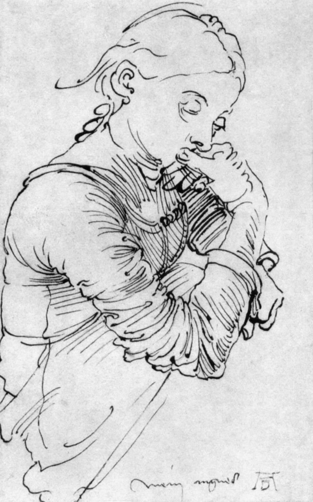 Портрет жены Дюрера - Моя Агнесс