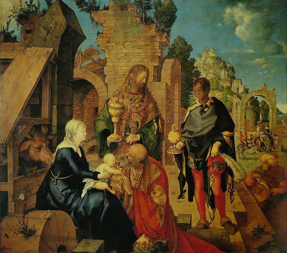 Поклонение волхвов, 1504 г.