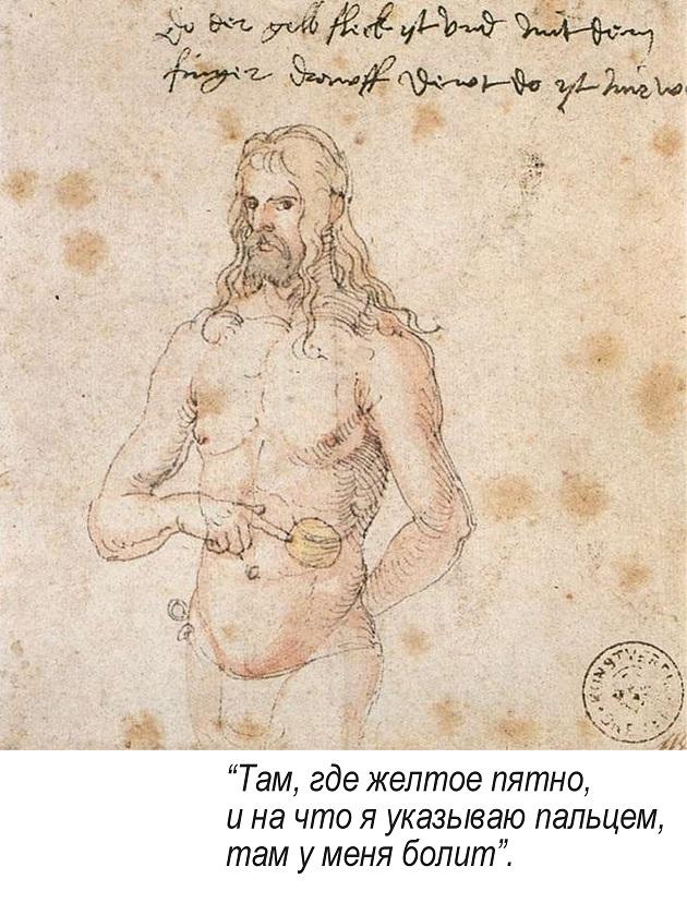 Автопортрет, 1521 г.