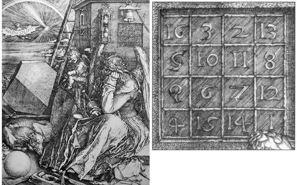Гравюра Меланхолия, 1514 г.