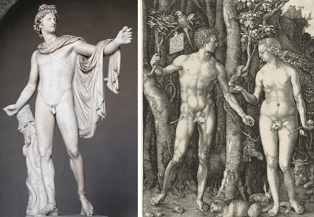 Адам и Ева, 1504 г.
