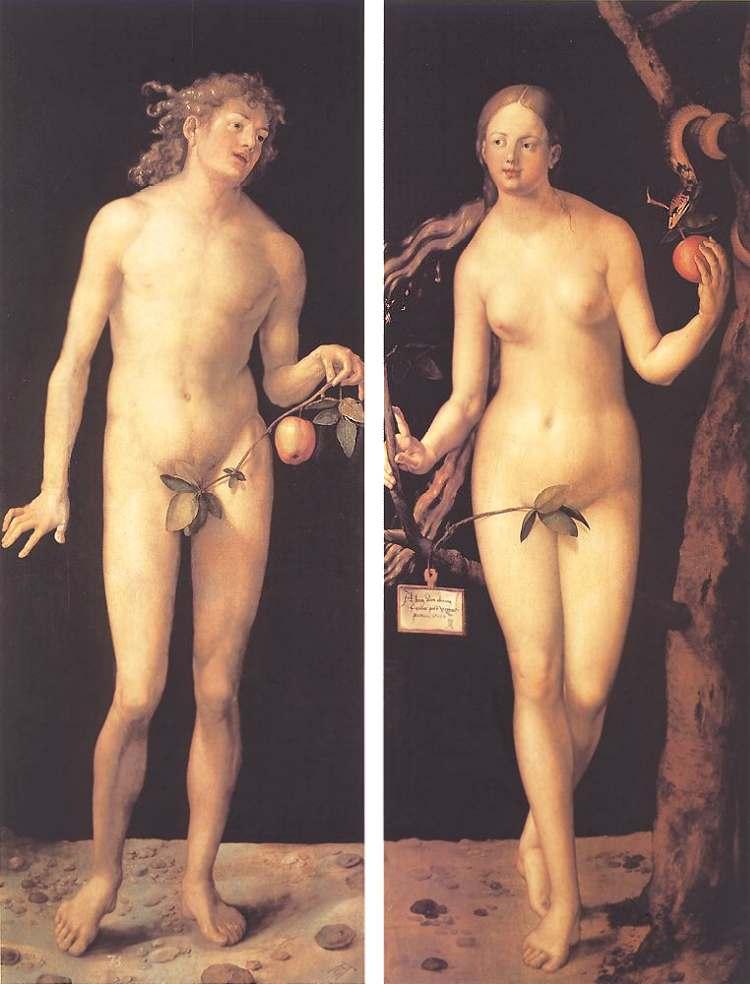 Адам и Ева, 1508