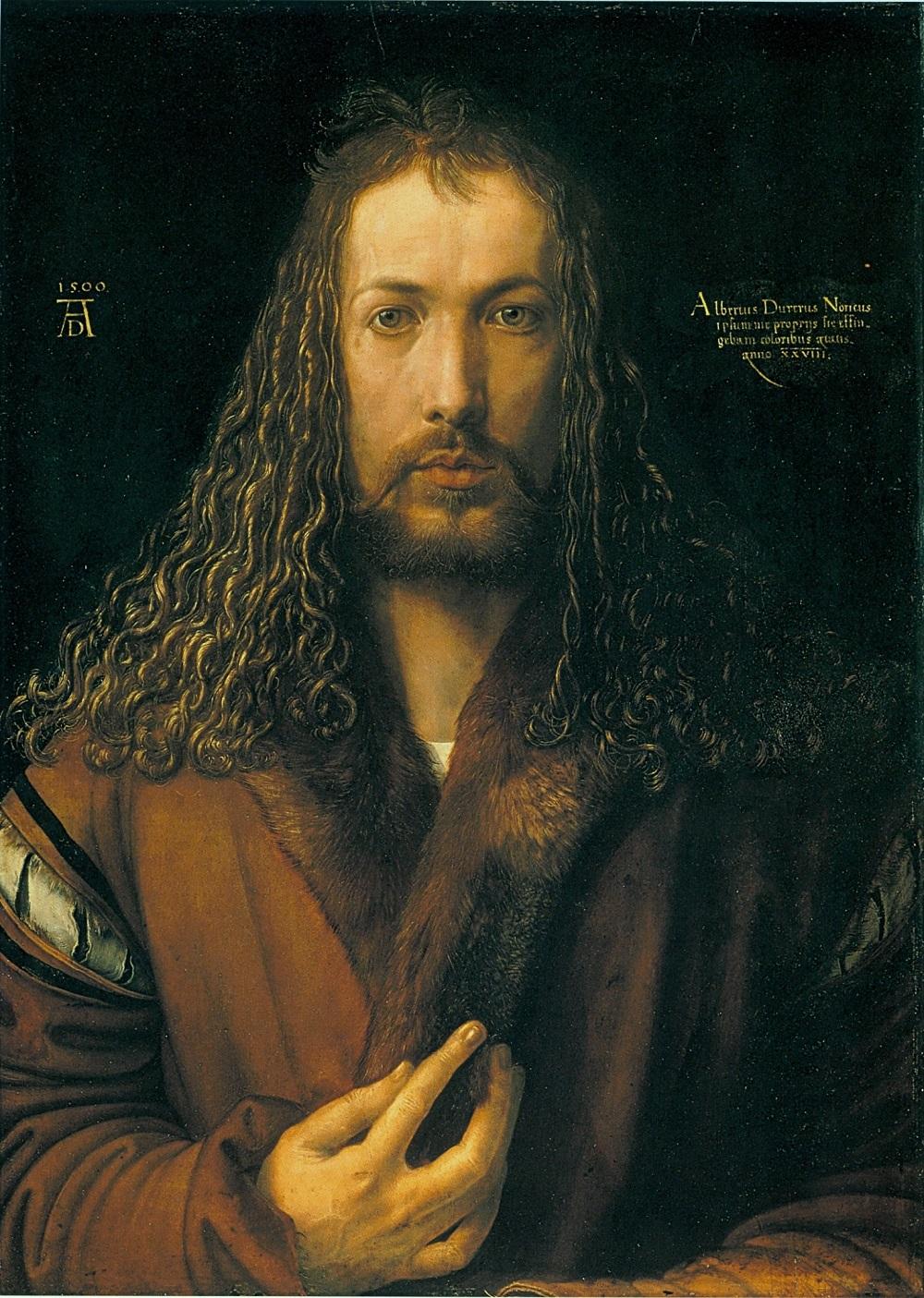 Автопортрет, 1500 г.