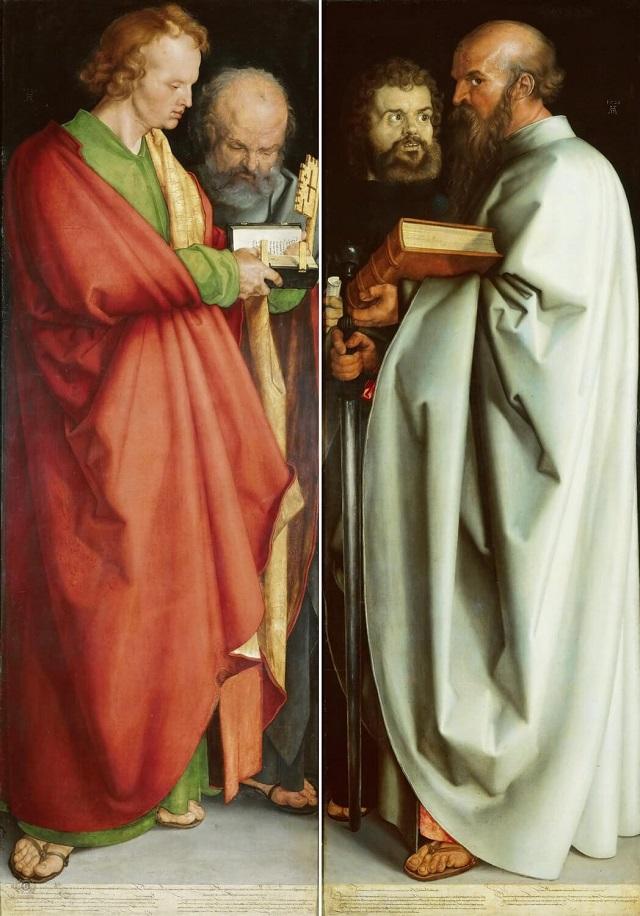 Четыре апостола, 1526 г.