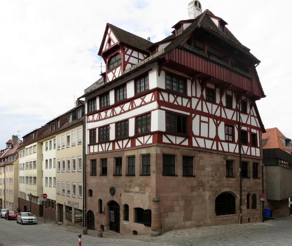 Дом Альбрехта Дюрера в Нюрнберге