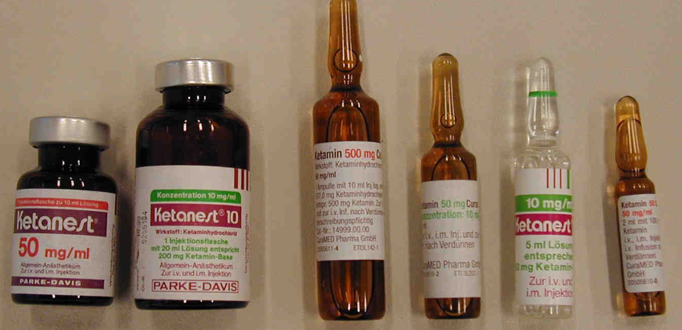 Кетамин показания к применению