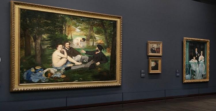«Завтрак на траве» в музее д'Орсе