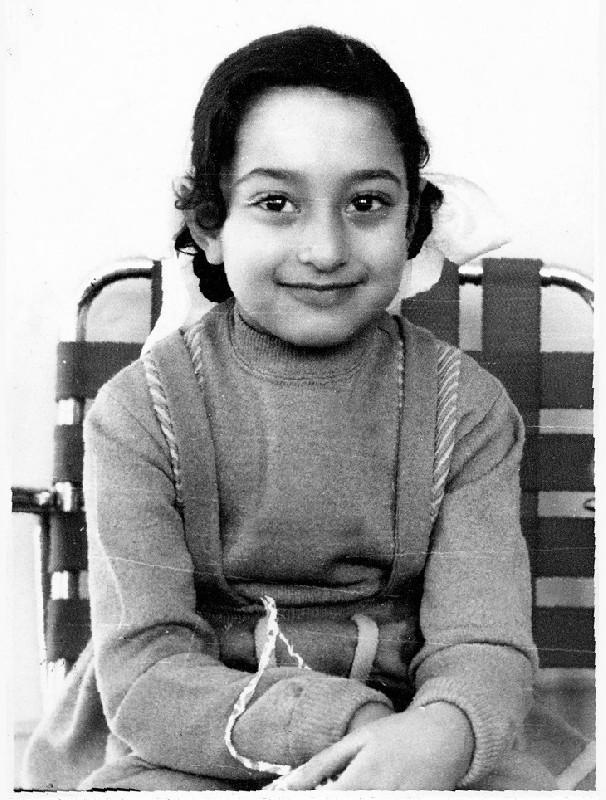 Заха Хадид в детстве