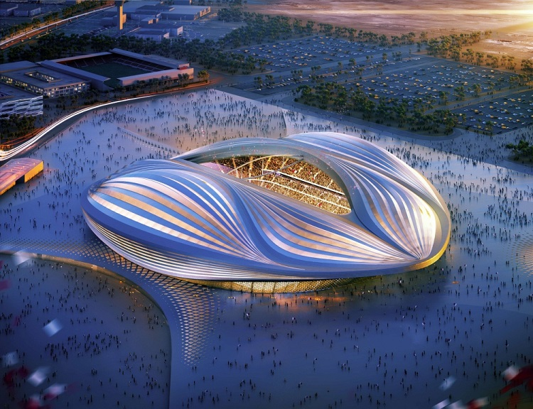 Проект стадиона в Катаре для ЧМ по футболу-2022