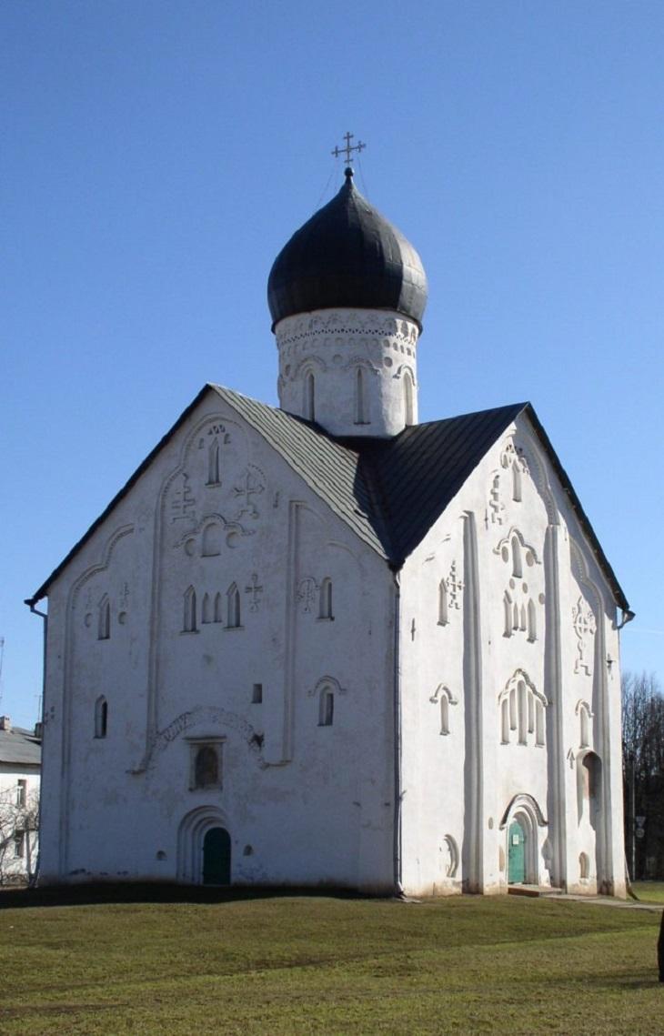 Церковь Спаса Преображения на Ильине улице. Великий Новгород.