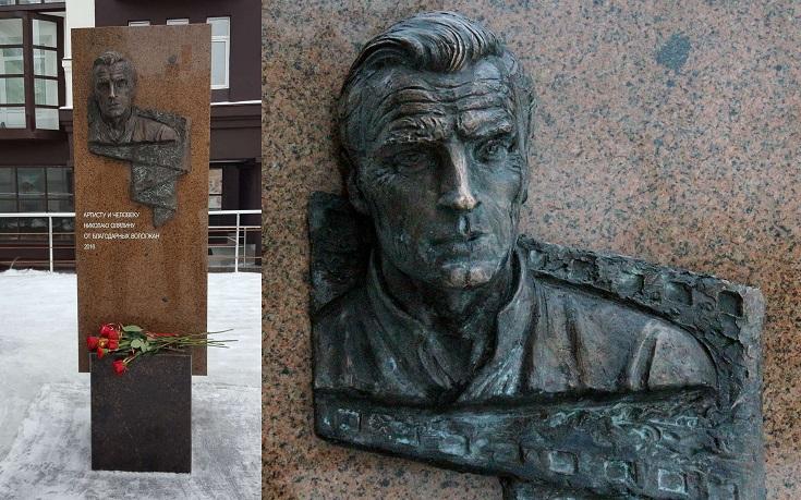 Памятник Николаю Олялину в Вологде. Скульптор Архипов А.А. Архитектор Рагутский Л.Н.