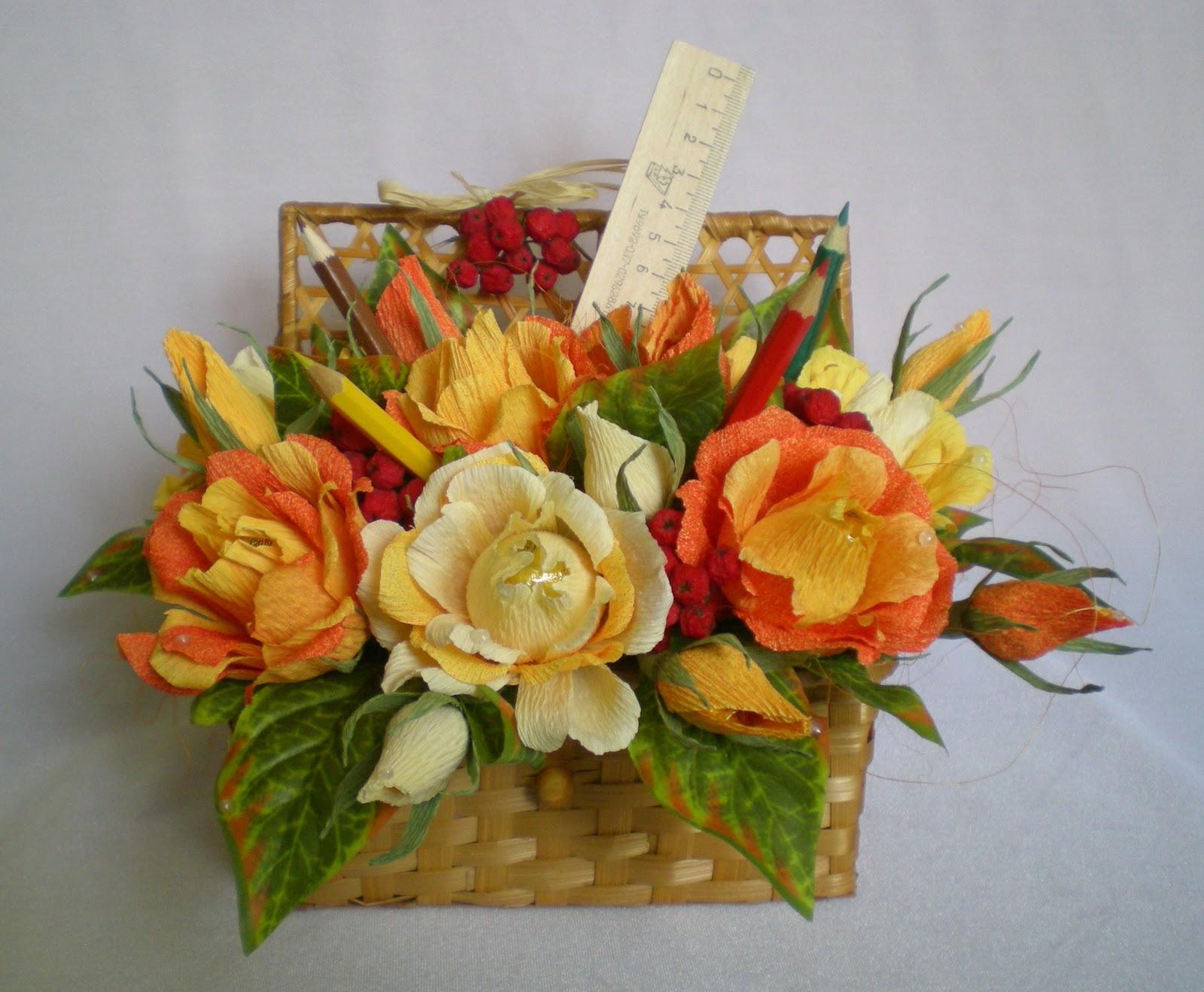 Осенний букет для учителя