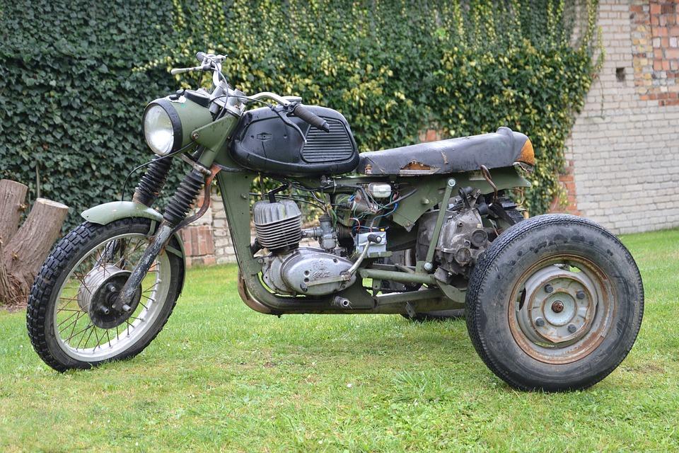 трехколесный мотоцикл своими руками