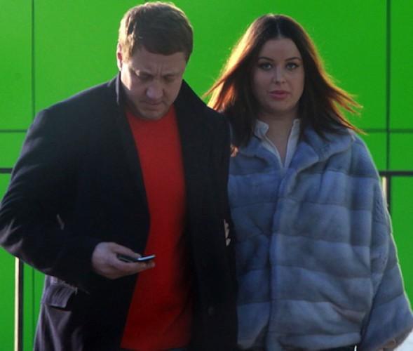 Федорова с мужем Андреем