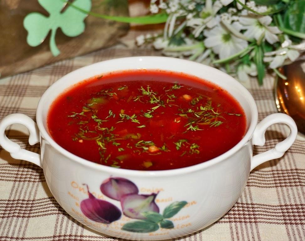 Рецепт свекольного супа с фото