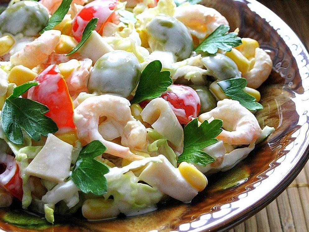 несложные салаты рецепты с фото мастера отделке