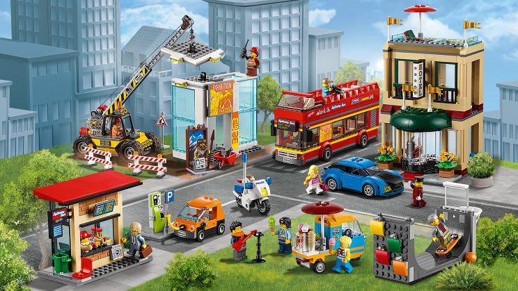 how to make a lego city