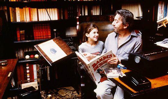 Шарлотта Генсбур с отцом
