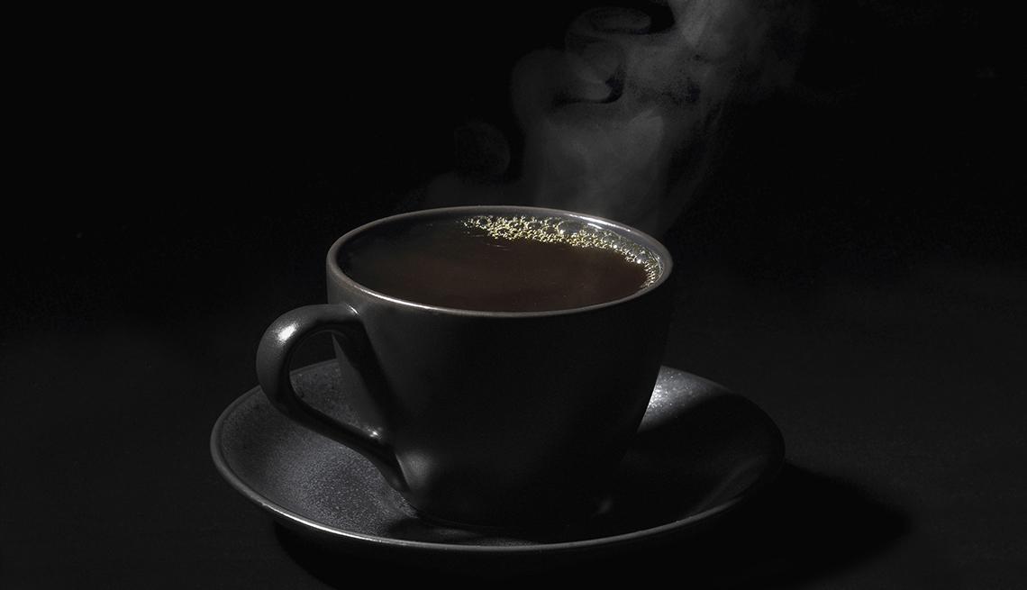 чашка кофе черная