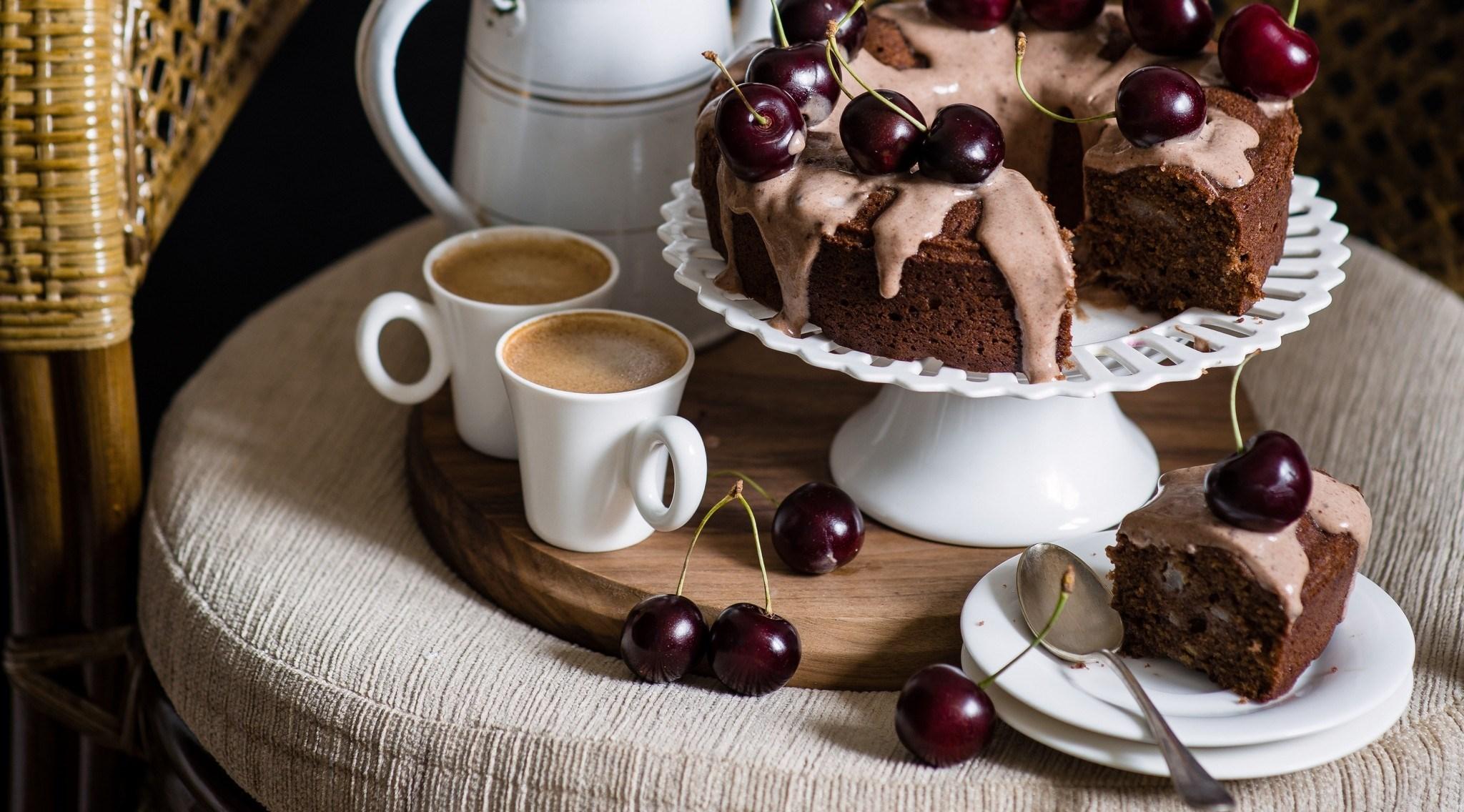 Картинки с добрым утром кофе и пироженкой