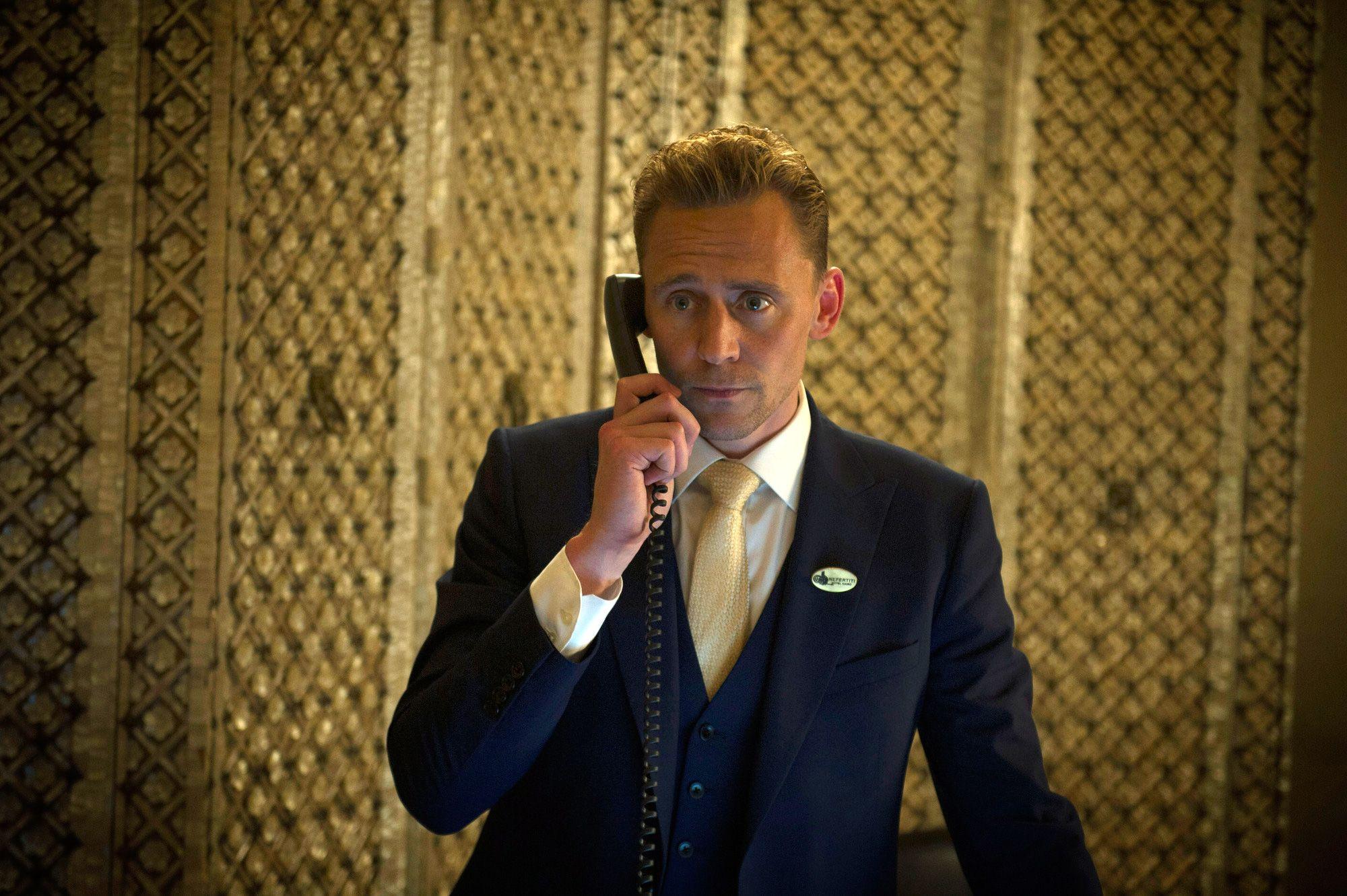 Том Хиддлстон в кинокартине «Ночной администратор»