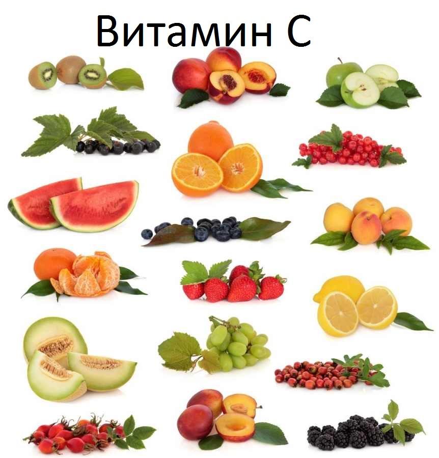 Картинки фруктов и овощей с витамином
