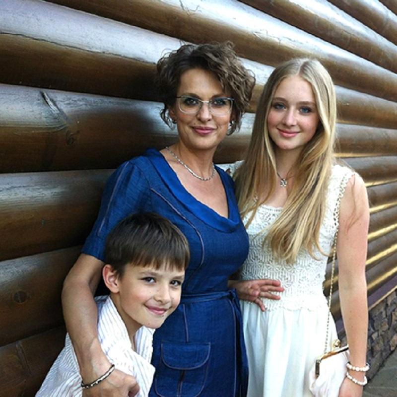 Жена и дети Сергея Бодрова