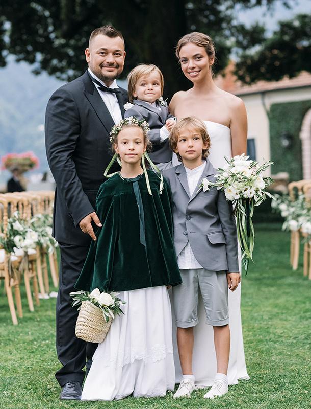 Красивая свадьба на озере Комо