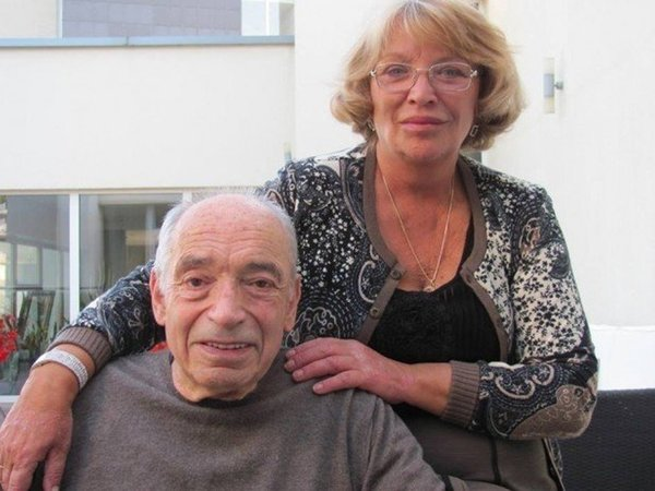 Ольга Остроумова с любимым мужем