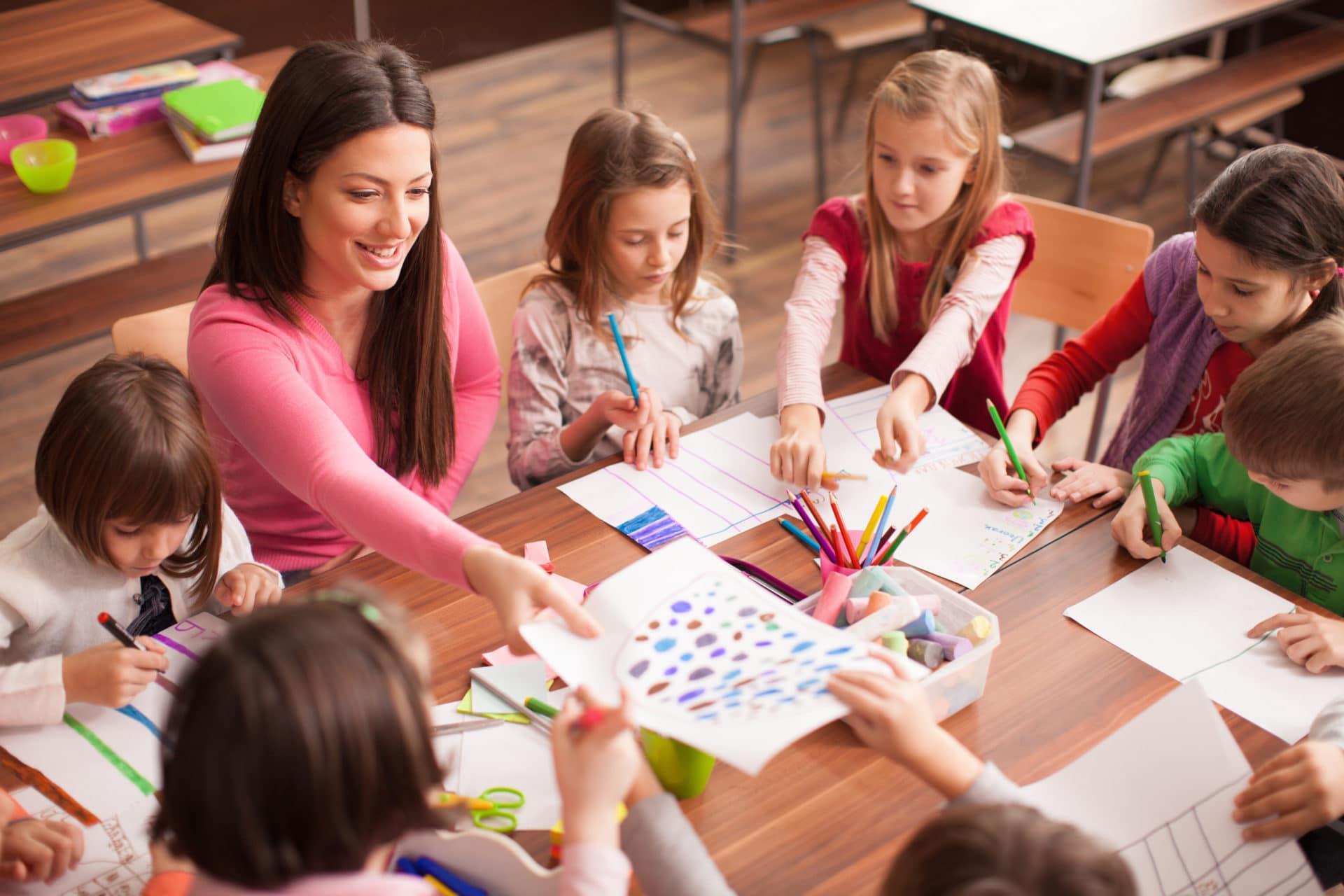 Детская развивающая методика Буквограмма