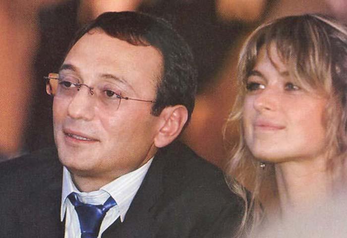 Керимов с Катей Гомиашвили