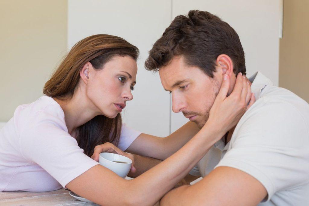 Появление секретов от жены