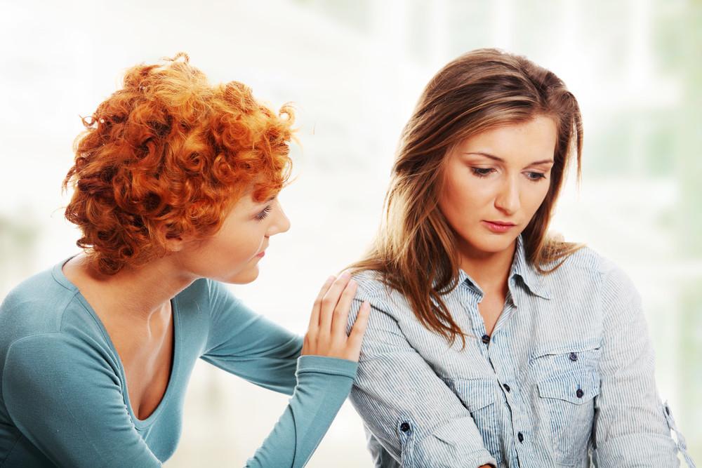 Разговор двух женщин