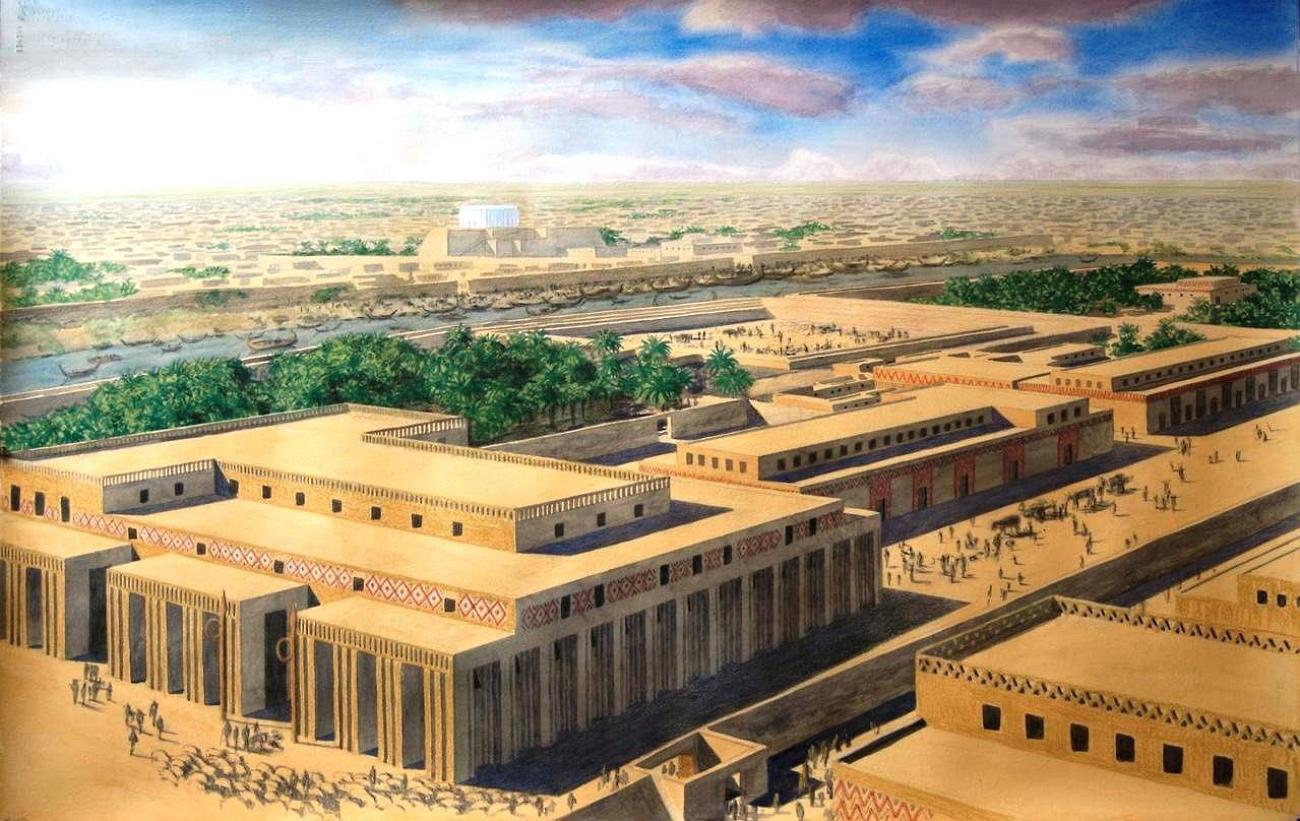 Архитектура месопотамии в картинках