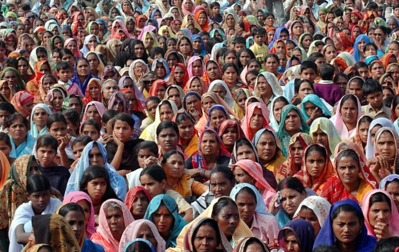 Великий индийский народ!