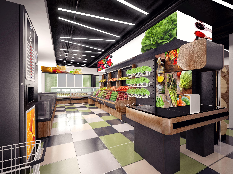 Дизайн продуктового магазина внутри фото супов
