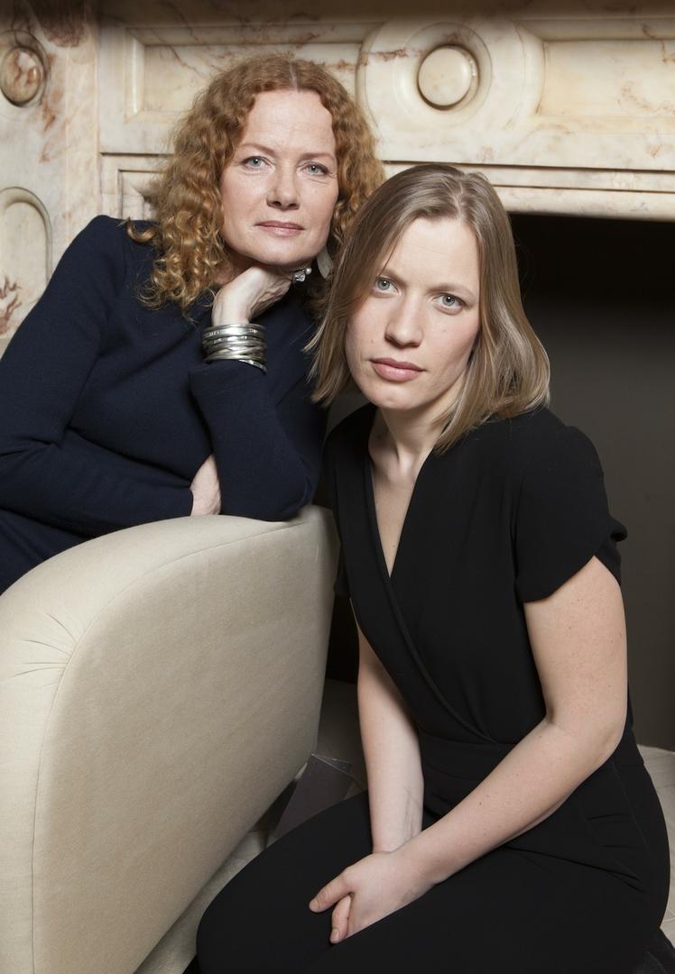 Дарья с мамой