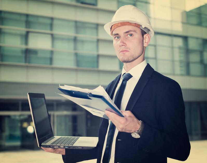 Еще на этапе планирования ГИП знает как будет выглядеть строительный объект в законченном виде
