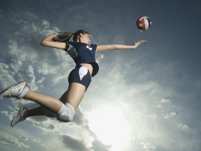Подача в волейболе