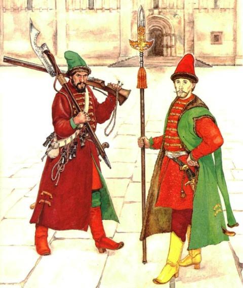 Стрельцы - вратари городских ворот
