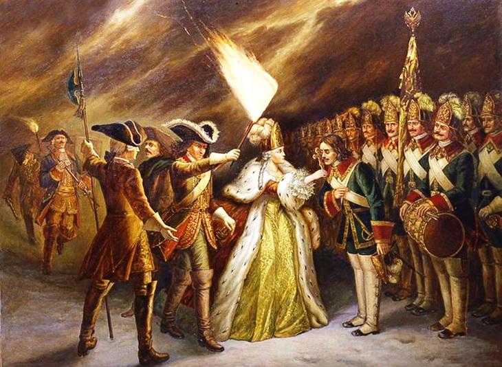 Картинка эпоха дворцовых переворотов